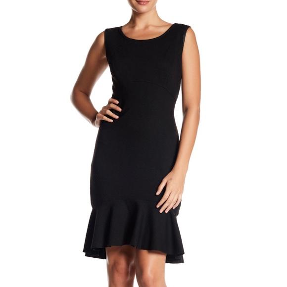 787698096c607 Max Studio Dresses | Ruffle Hem Fit Flare Dress | Poshmark